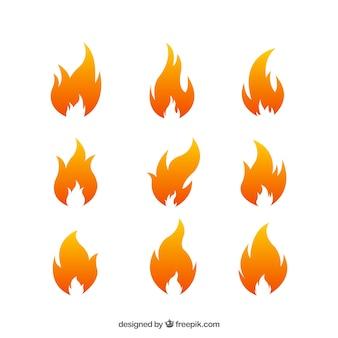 Ornamentos de fogo