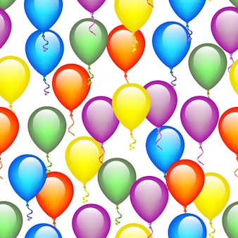 Os balões coloridos fundo