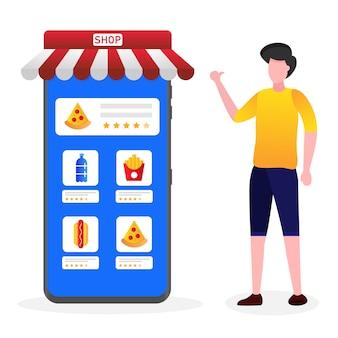 Os clientes dão a melhor classificação nas compras online