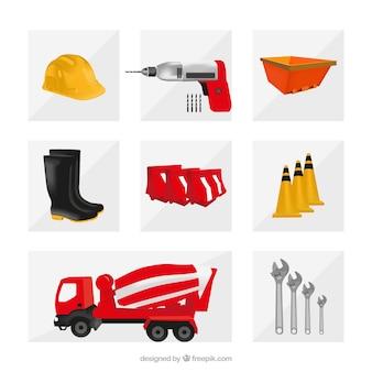 Os elementos de construção