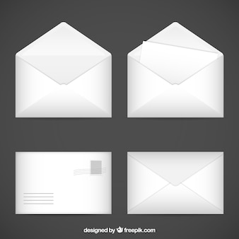Os envelopes brancos