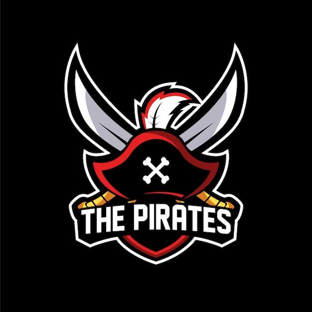 Os esports logo pirates