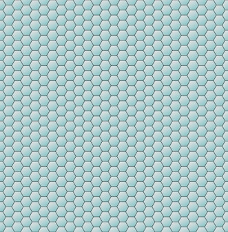 Os hexágonos do favo de mel abstraem o fundo geométrico. vetor
