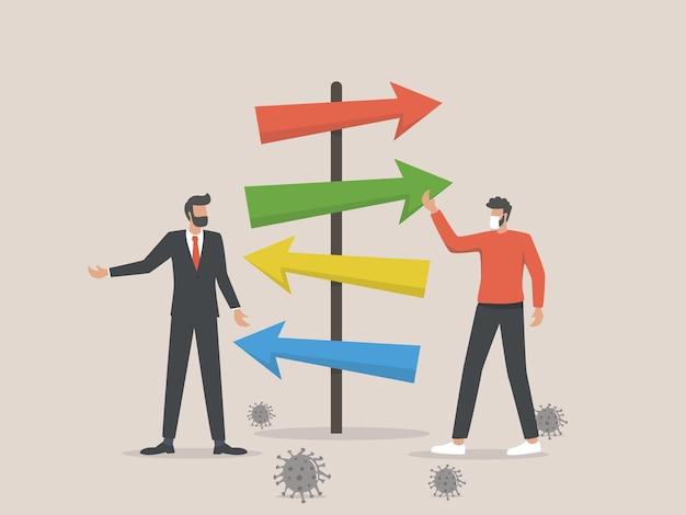 Os líderes empresariais pedem um roteiro econômico pós-covid