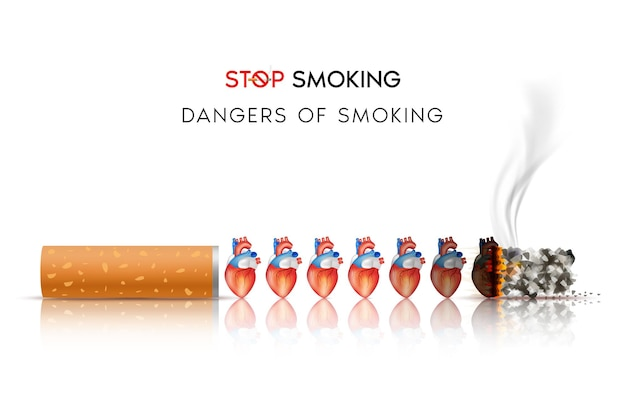 Os perigos dos efeitos do fumo do fumo o risco de doenças cardíacas