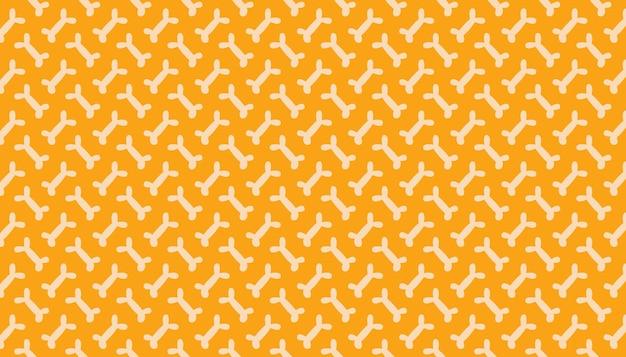 Ossos padrão de fundo de banner papel de embalagem de embrulho feliz dia das bruxas