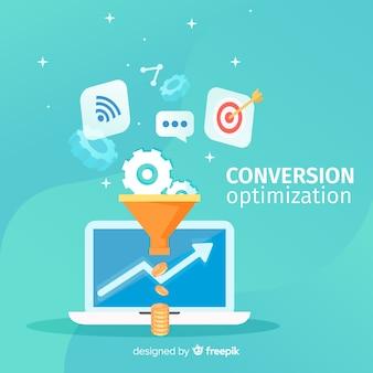 Otimização de conversões