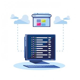 Otimização de mecanismo de pesquisa com desktop