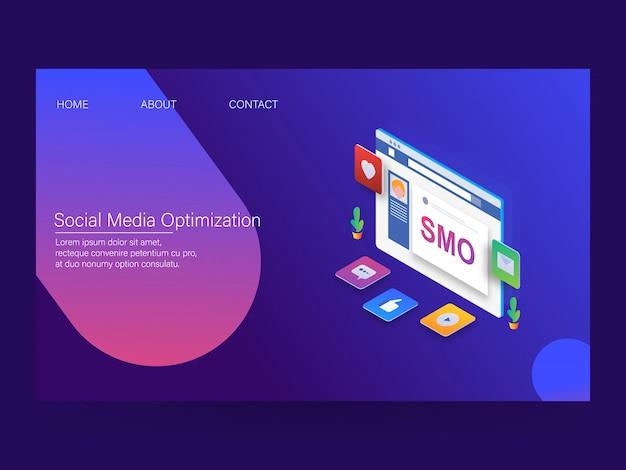 Otimização de mídia social