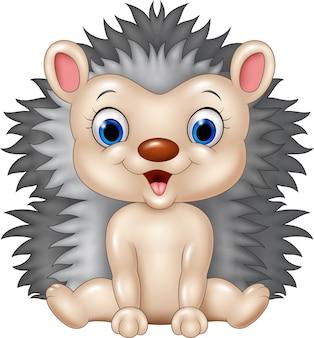 Ouriço de bebê fofo