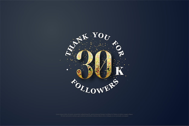 Ouro desbotado para trinta mil seguidores