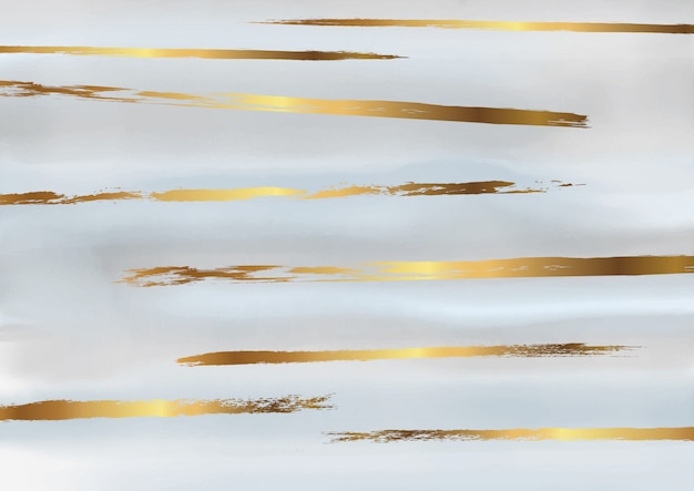 Ouro e cinza fundo aquarela decorativo
