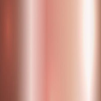 Ouro rosa escovado metal