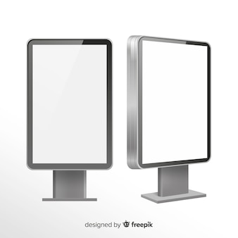 Outdoor de caixa de luz realista