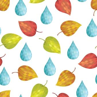 Outono abstrato abstrato