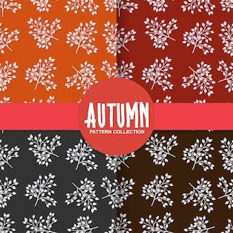 Outono padrão sem emenda