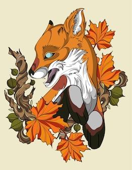 Outono raposa