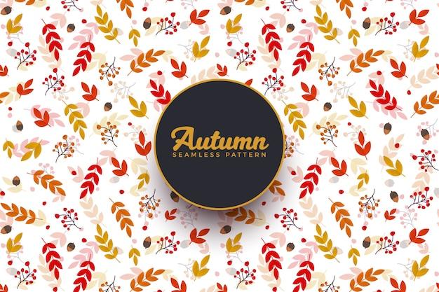 Outono sem costura de fundo