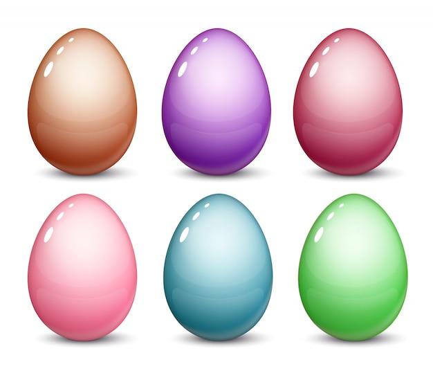 Ovos de páscoa são um conjunto