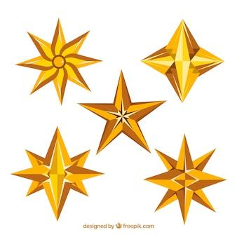 Pack de cinco estrelas
