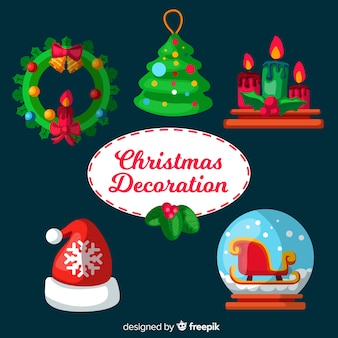Pack de decorações de natal