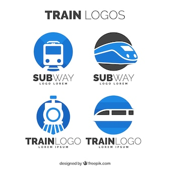 Pack de logos de trem