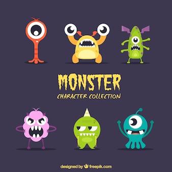 Pack de monstros diferentes