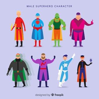 Pack de super-heróis