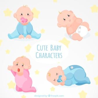 Pacote com bebê lindo