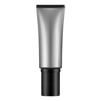 Pacote cosmético do tubo de creme