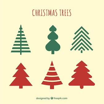 Pacote de árvore de natal