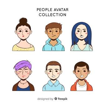Pacote de avatar de pessoas