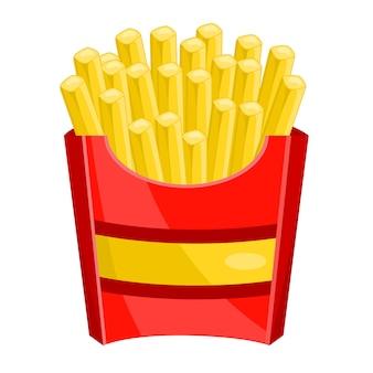 Pacote de batatas fritas