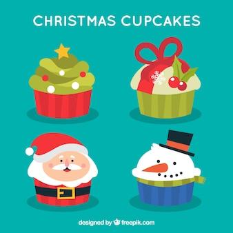 Pacote de biscoitos de natal