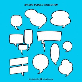 Pacote de bolhas de discurso cômico