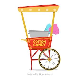 Pacote de carrinho de algodão de algodão vintage