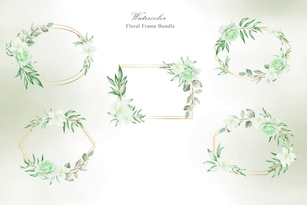 Pacote de casamento floral