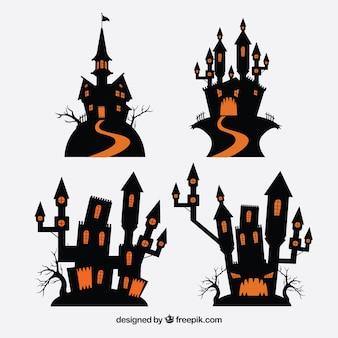 Pacote de castelos encantados