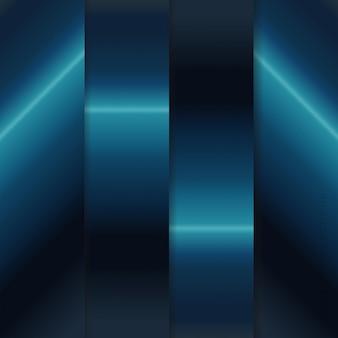 Pacote de coleções de gradientes metálicos