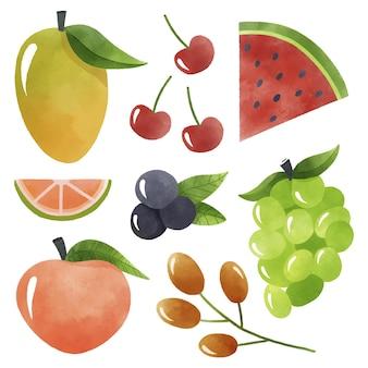 Pacote de coleta de frutas