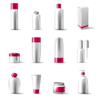 Pacote de cosméticos