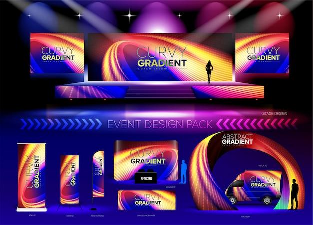 Pacote de design de eventos