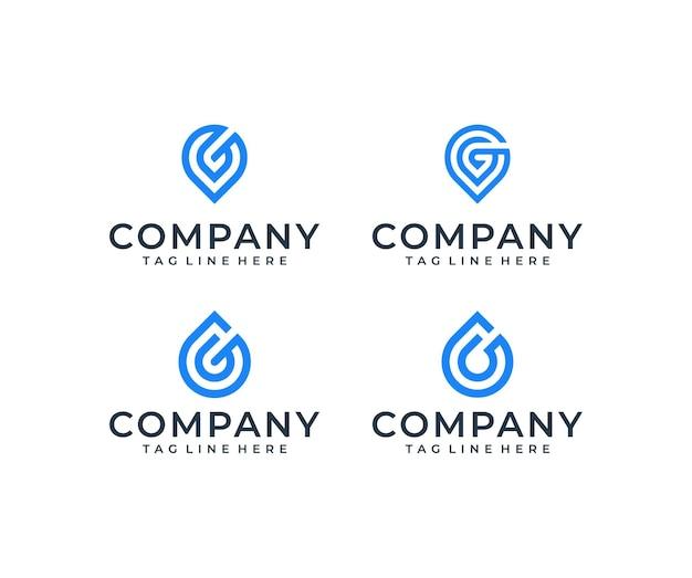 Pacote de design de logotipo de inspiração