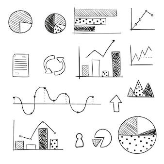 Pacote de elementos do gráfico
