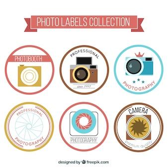 Pacote de emblemas fotografia