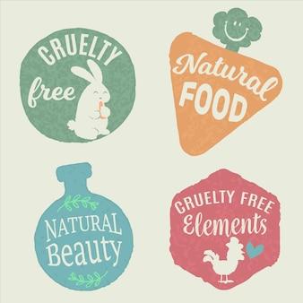 Pacote de emblemas gratuitos de crueldade