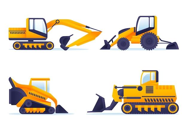 Pacote de escavadeira