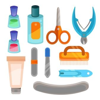Pacote de ferramentas de manicure