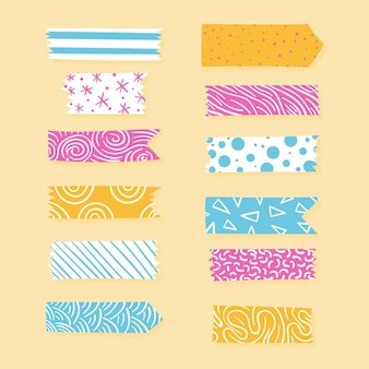 Pacote de fita washi decorativa