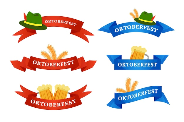 Pacote de fitas da oktoberfest